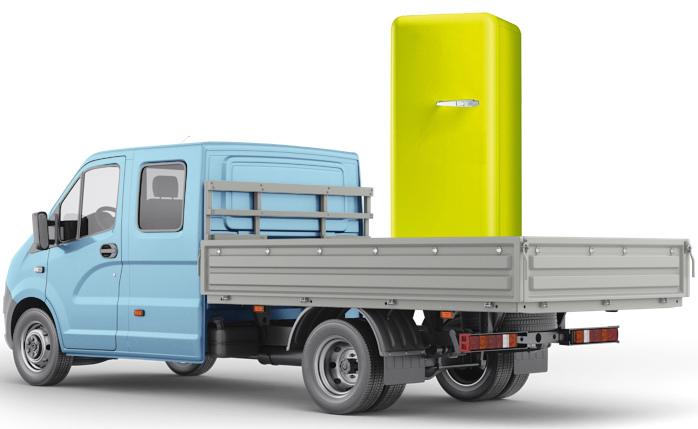 Положение холодильника No Frost при перевозке