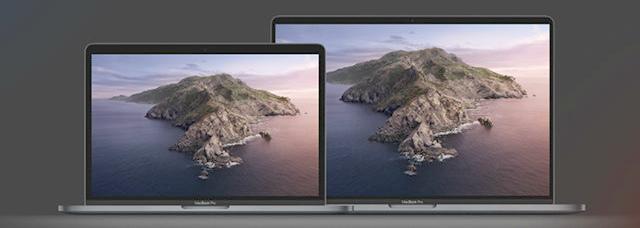 Ноутбуки MacBook Pro и Air 2020