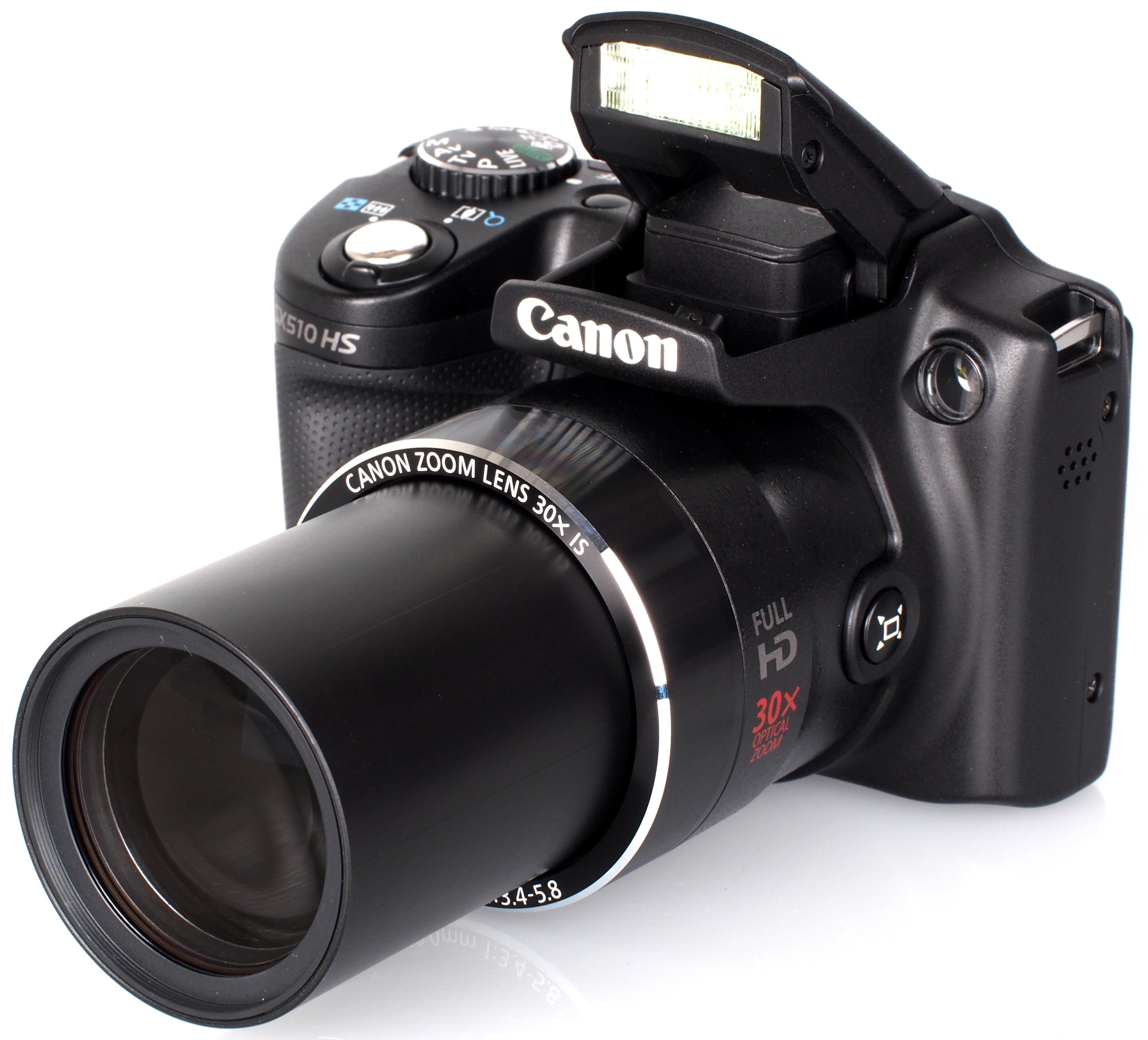 Фотокамера с большой кратностью зума