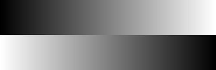 Градиент серого цвета