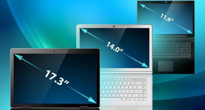 Как узнать диагональ экрана ноутбука?