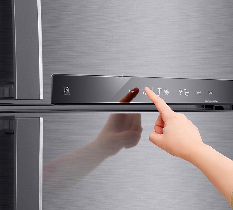 Панель управления холодильника