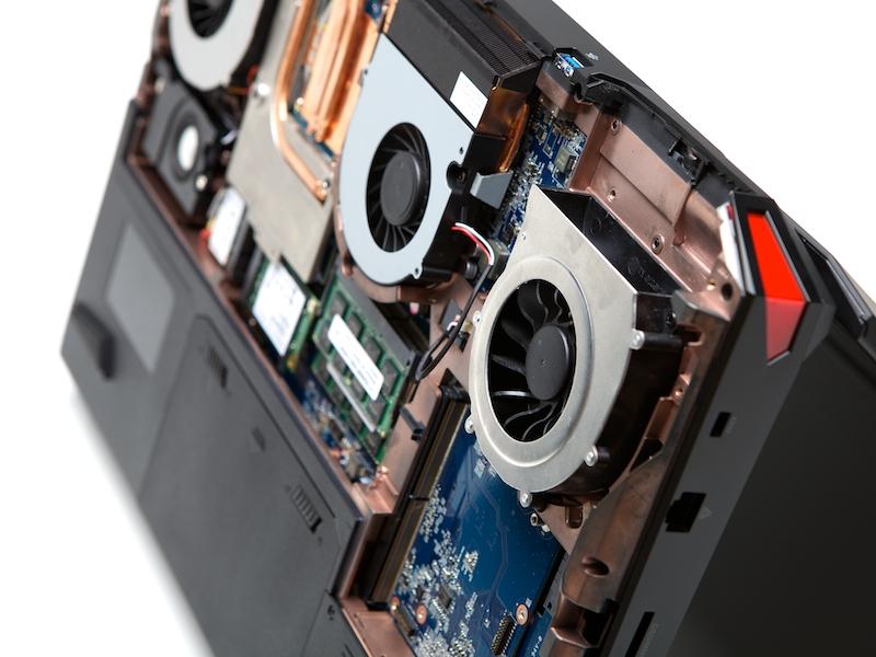 Система охлаждения в игровом ноутбуке