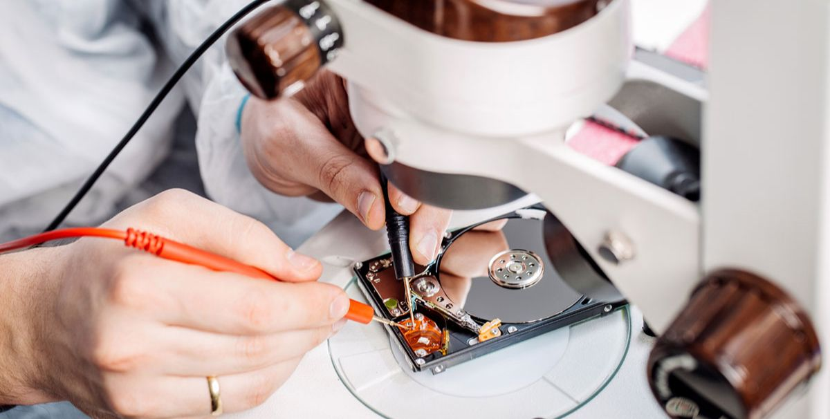 Восстановление жесткого диска