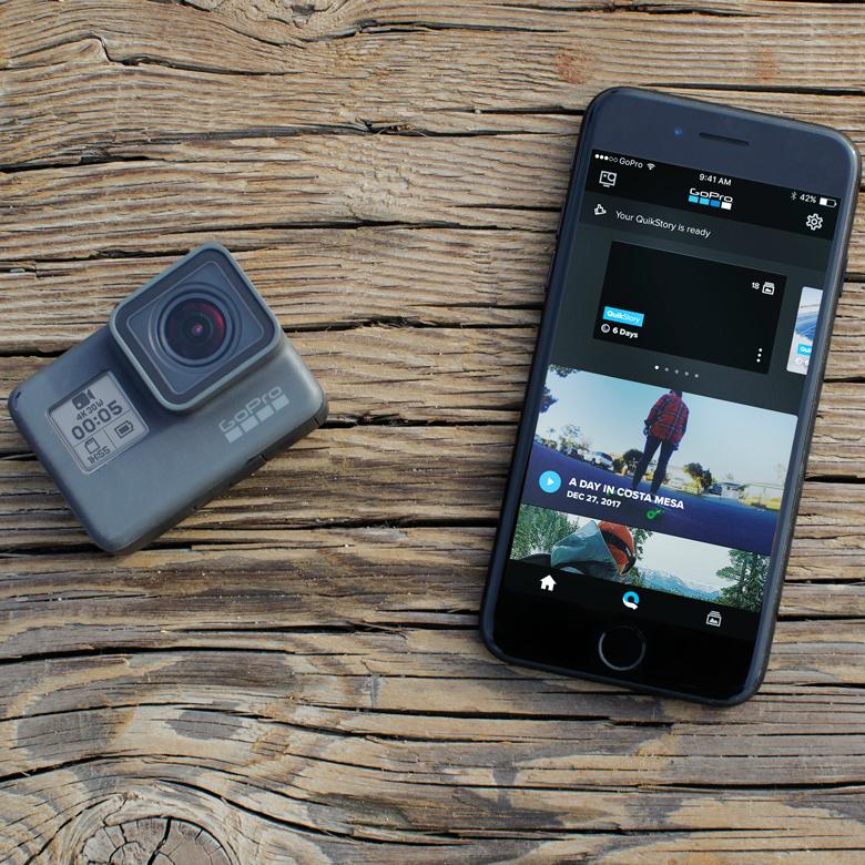 Соединение GoPro HERO6 Black со смартфоном
