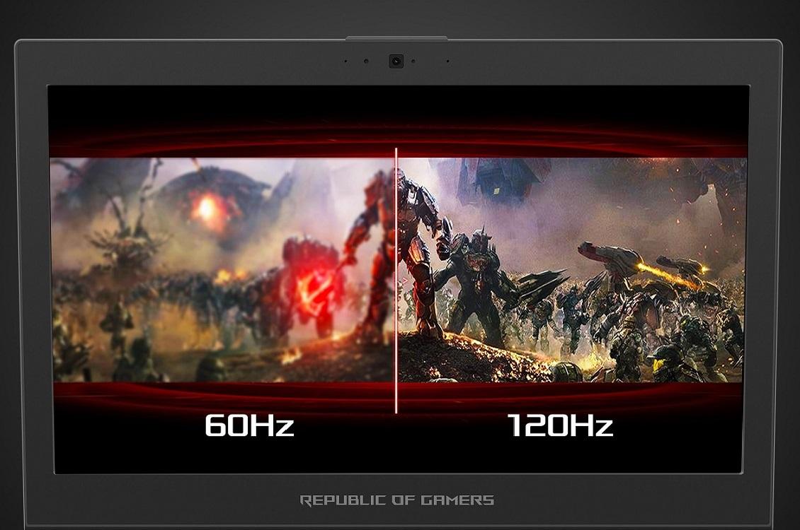 Экран ASUS ROG Zephyrus GX501