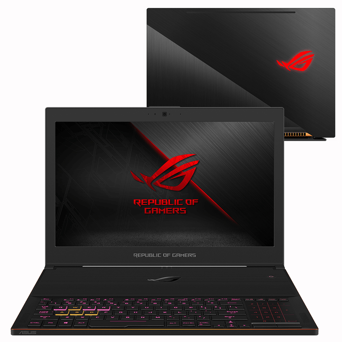 Обзор игрового ноутбука ASUS ROG Zephyrus GX501