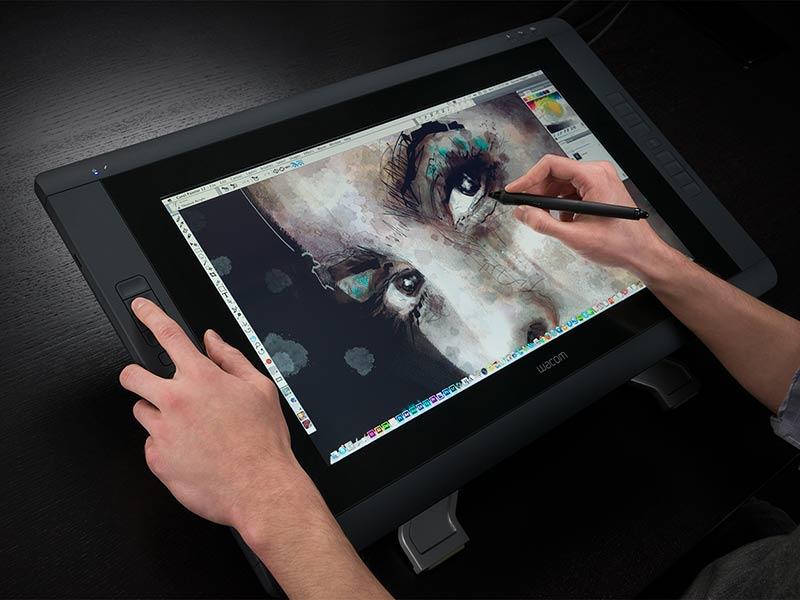 Графический планшет с большой рабочей поверхностью