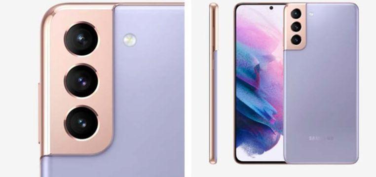 Внешний вид смартфона Samsung Galaxy S21 Plus 5G