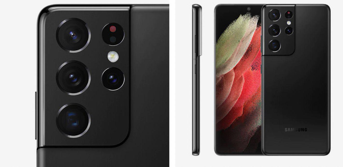 Внешний вид смартфона Samsung Galaxy S21 Ultra 5G