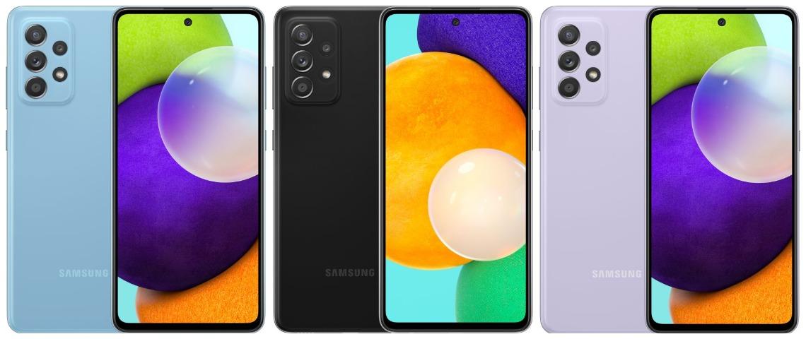 Дизайн Samsung Galaxy A52