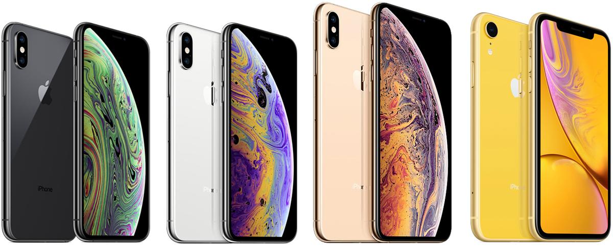 Сравнение iPhone X, XS, XS Max и XR