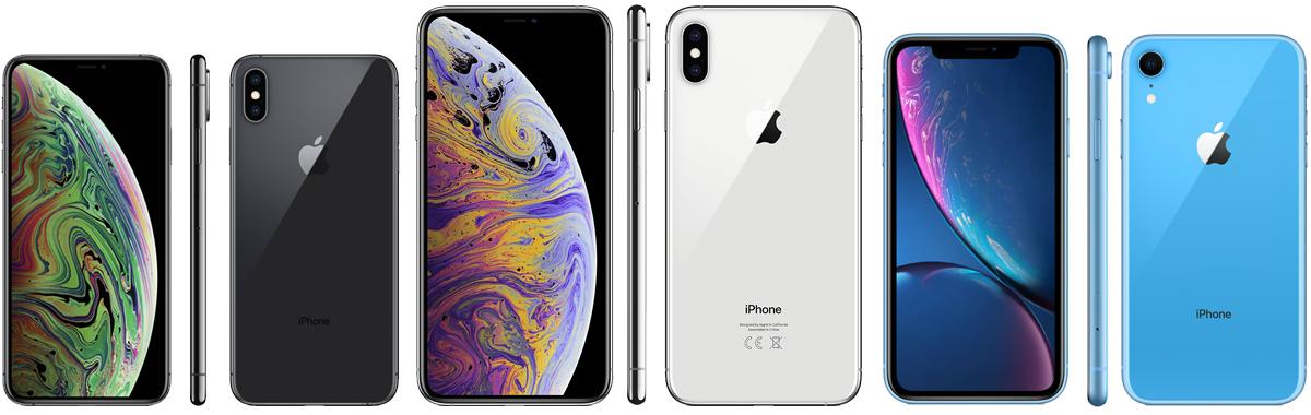 Сравнение iPhone XS, XS Max и XR