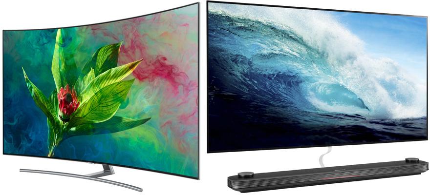 Сравнение телевизоров QLED и OLED: плюсы и минусы технологий