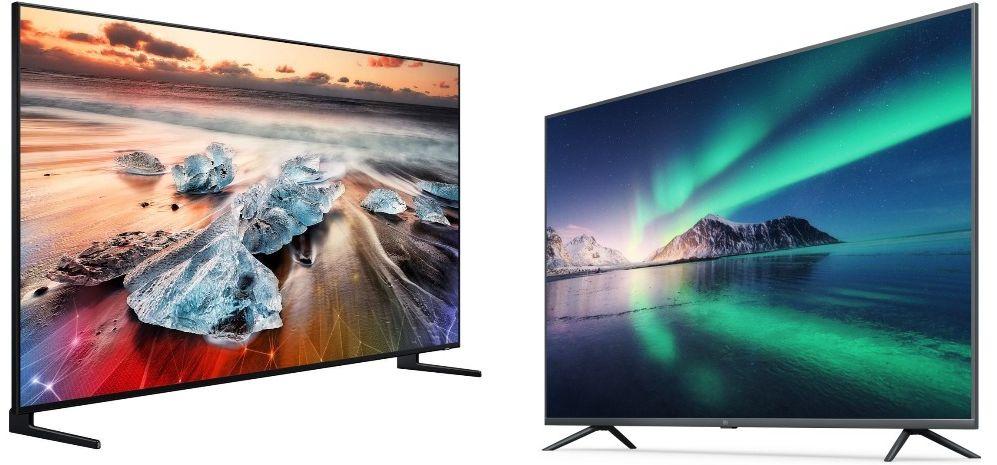Телевизоры 8K и 4K
