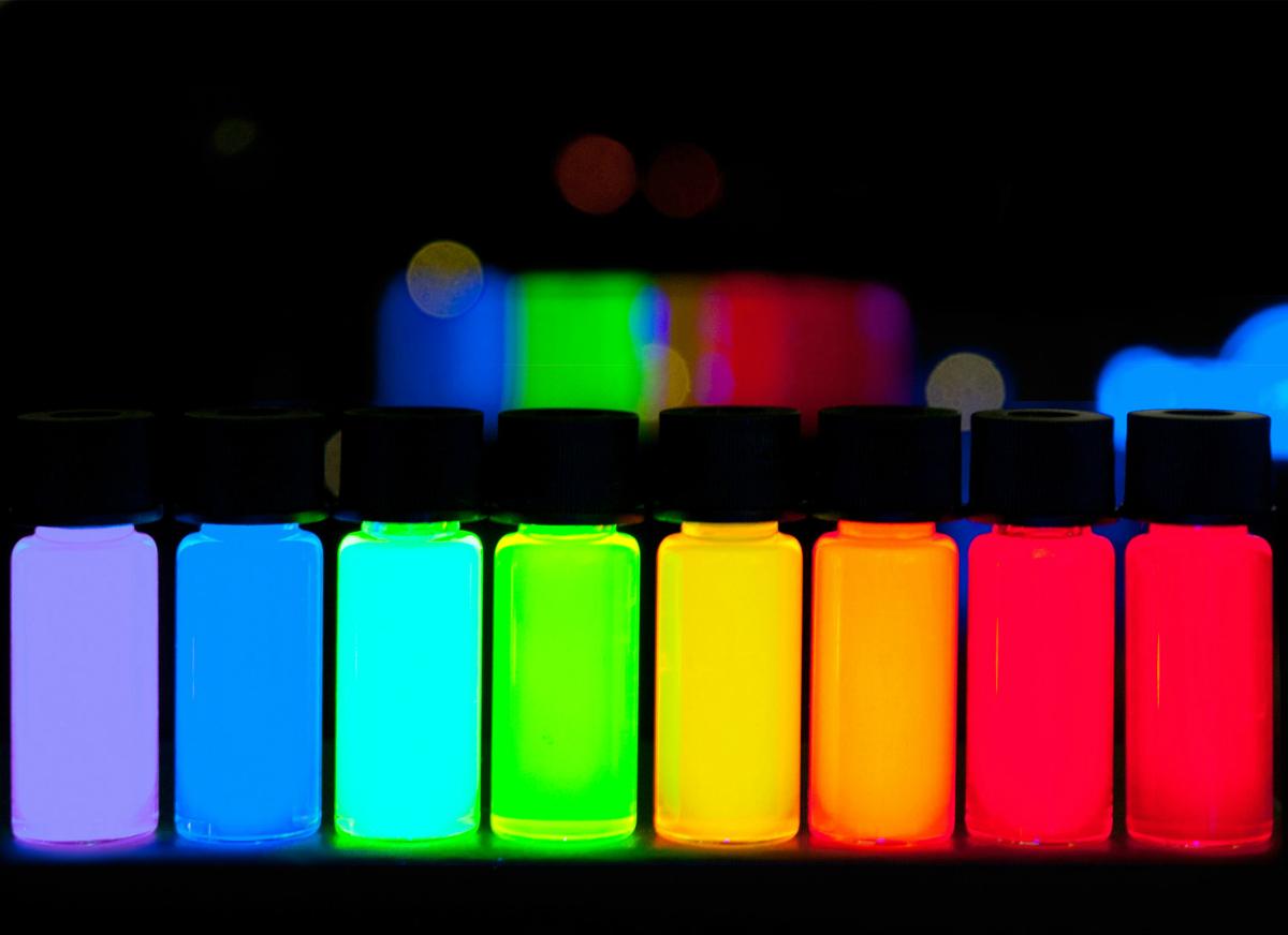 Квантовые точки под воздействием света