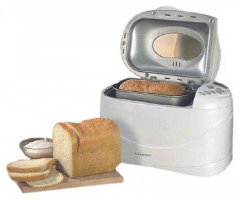 прямоугольный хлеб из хлебопечки