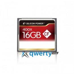 Silicon Power Compact Flash 16 GB 400x SP016GBCFC400V10
