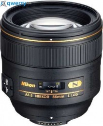 Nikon 85mm f/1.4G N AF-S Nikkor (JAA338DA) Официальная гарантия!