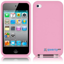 Silicon Case iPod Touch 4Gen Pink