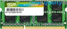 SODIMM 8192Mb DDR3 1333Mhz Silicon Power (SP008GBSTU133N02)