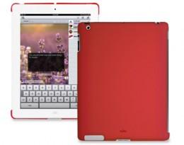 Накладка Puro iPad 2 back красная IPAD2BCOVERRED