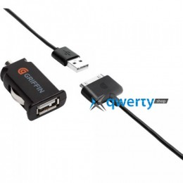 Griffin PowerJolt Micro Car Charger for  iPad/iPhone/iPod (GC23095)