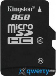 Kingston microSD 8 GB Class 4 SDC4/8GBSP