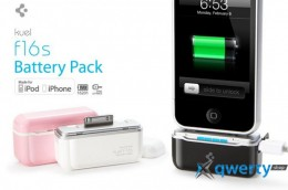 SGP Portable Mobile Battery  Pack Kuel F16S Series Infinity  White for iPhone/iPod  (SGP08496)