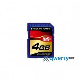 Silicon Power SDHC 4 GB Class 10 SP004GBSDH010V10