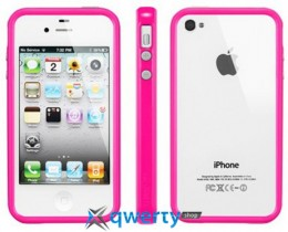 SGP Case Neo Hybrid 2S Pastel Series Fantasia Hot Pink for iPhone 4/4S (SGP08397)