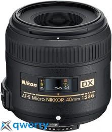 Nikon 40mm f/2.8G AF-S DX Micro Nikkor Официальная гарантия!