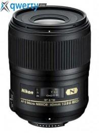 Nikon 60mm f/2.8G ED AF-S Micro Nikkor Официальная гарантия!