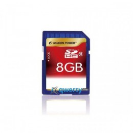 Silicon Power SDHC 8 GB Class 10 SP008GBSDH010V10