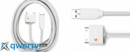 Griffin 3 Meter USB to Dock Cable White for  iPad/iPhone/iPod (GC17120)