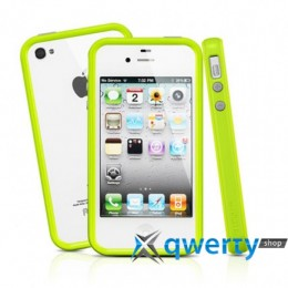 SGP Case Neo Hybrid 2S Pastel Series Lime for iPhone 4/4S (SGP08367)