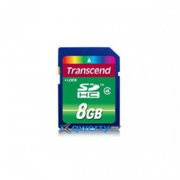 Transcend SDHC 8 GB Class 4 TS8GSDHC4