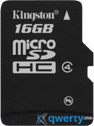 Kingston microSD 16 GB Class 4 SDC4/16GBSP