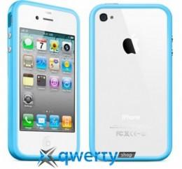 Bumper для iPhone 4/4S blue