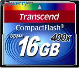 Transcend Compact Flash 16 GB (400X) TS16GCF400