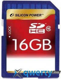 Silicon Power SDHC 16 GB Class 10 SP016GBSDH010V10