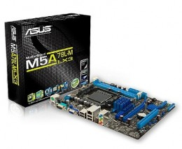 ASUS Socket AM3 M5A78L-M LX3