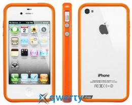 SGP Case Neo Hybrid 2S Pastel Series Solaris Orange for iPhone 4/4S (SGP08364)