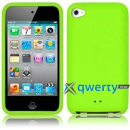 Silicon Case iPod Touch 4Gen Green