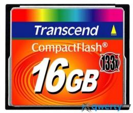 Transcend Compact Flash 16 GB (X133) TS16GCF133