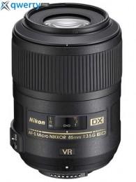 Nikon 85mm f/3.5G AF-S DX ED VR Официальная гарантия!