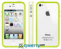 SGP Case Neo Hybrid 2S Pastel Series Alpine Lime for iPhone 4/4S (SGP08363)