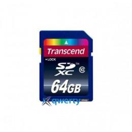 Transcend SDXC 64 GB Class 10 TS64GSDXC10