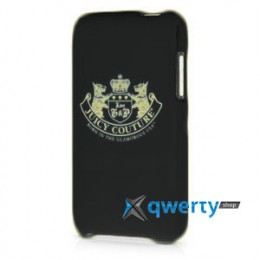 Juicy Couture New Crest Case for iPod Touch 4gen black