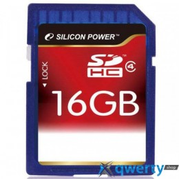 Silicon Power SDHC 16 GB Class 4 SP016GBSDH004V10